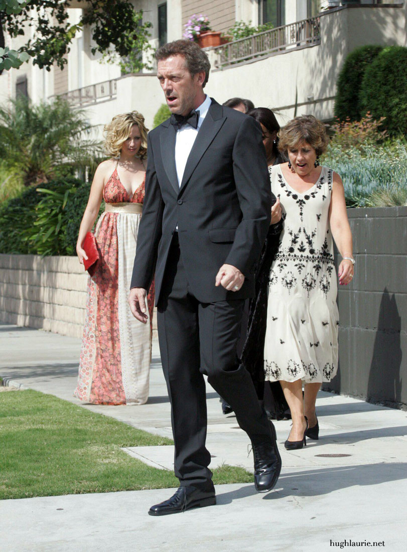 Hugh Laurie Wife And K...