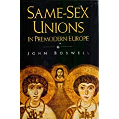 re: Gay Unions sanctioned in Medieval Europe
