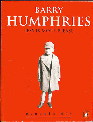 Less Is More Please, Humphries, Barry