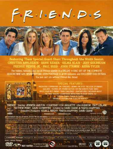 Friends season 9 cover poster