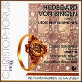 HvB: Lieder und Antiphonen (Songs & Antiphons - Helga Weber Instrumental Ensemble)