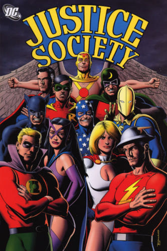 Justice Society Volume 2 cover