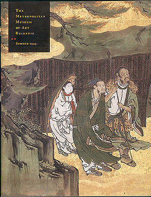 Immortals and Sages: Paintings from Ryoanji Temple (The Metropolitan Museum of Art Bulletin, Summer 1993, Volume LI, No. 1), Onishi, Hiroshi; Oba, Takemitsu; Castile, Sondra