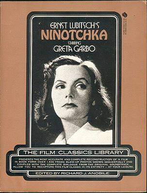 Ernst Lubitsch's Ninotchka Starring Greta Garbo, Melvyn Douglas , Anobile, Richard J. (editor)