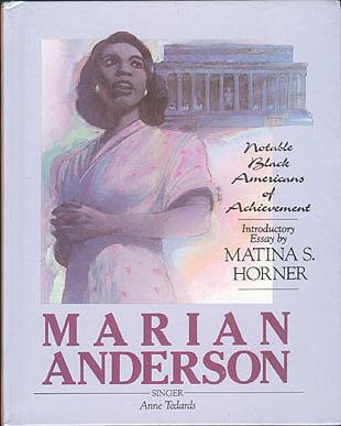 Marian Anderson, Tedards, Anne