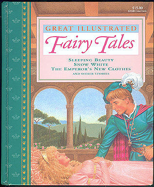Great Illustrated Fairy Tales: Sleeping Beauty, Snow White, The Emperor's New Clothes and Other Stories, Larkin, Rochelle (adapter); Edinjiklian, Teddy (illustrator)