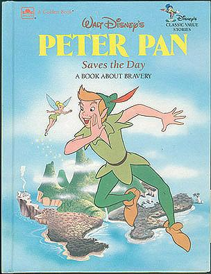 Walt Disney's Peter Pan Saves the Day: A Book about Bravery, Walt Disney Company