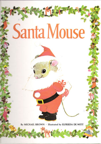 Santa Mouse