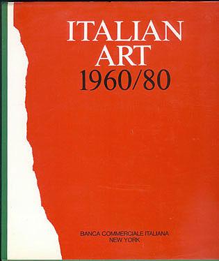 Italian Art 1960/80, Quintavalle, Arturo Carlo