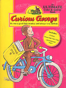 Curious George: The Ultimate Color and Activity Book, No author stated.