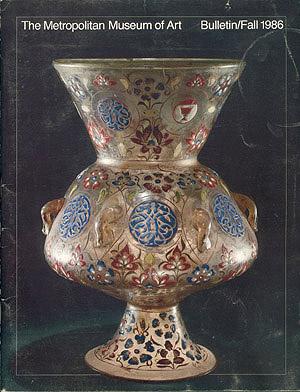 Islamic Glass: a Brief History (The Metropolitan Museum of Art Bulletin, Fall 1986, Volume 44, No. 2), Jenkins, Marilyn