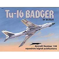 Tu-16 Badger in Action