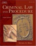 Criminal Law and Procedure (West Legal Studies Series)