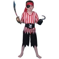 Pirate Costume for Boy Size Medium Age 6-8 years