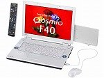 東芝 dynabookQosmio F40/87C T7100/15.4W/512Mx2/160G/S-Multi/TV/HomePrem/Offi2007 PQF4087CLP