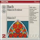 Bach: Mass in B minor/Mass in F