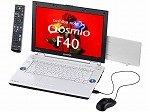 東芝 dynabookQosmioF40/87CBL T7100/15.4W/512Mx2/160G/S-Multi/TV/HomePrem/Offi2007 PQF4087CLPBL