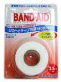 バンドエイド テ-プ包帯伸びないタイプ 2.5cm (4入り)