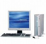 ソーテック PC STATION BJ3313B/17SA Windows Vista Home Basic17型液晶セットOfficePersonal2007 BJ3313B/17SA