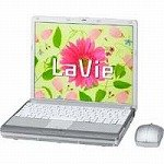 日本電気 LaVie J LJ750/HH (モバイルノート/12.1型液晶搭載)Vista-HomePremium PC-LJ750HH