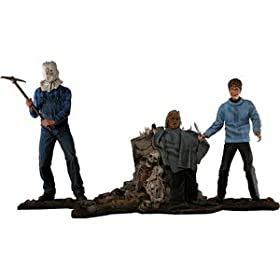 Friday the 13th 25th Anniversary Boxed Set with Two Figures