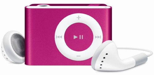 Apple 1 GB iPod Shuffle AAC/MP3 Player Pink (2nd Generation)