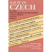 Say It in Czech (Dover Say It Series)