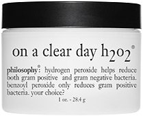 philosophy on a clear day h2o2 cream