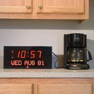 Big Digital LED Calendar Clock