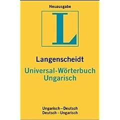 Langenscheidts Universal-Wörterbuch, Ungarisch