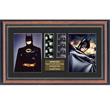 "Actual Film Cell From ""Batman Returns & Batman Forever Duo"" In A Quality Frame"