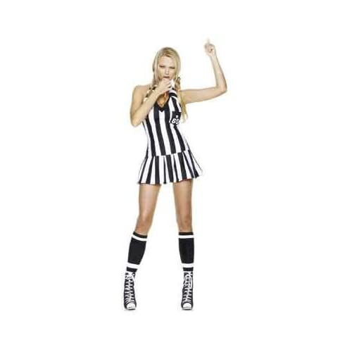3 Piece Time Out Girl Costume - Sexy Referee