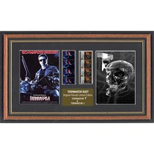"Actual Film Cell From ""Terminator 2 & 3 Duo"" In A Quality Frame"