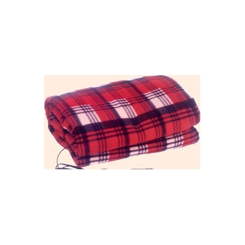 12 Volt Auto Fleece Electric Heated Heating Blanket With