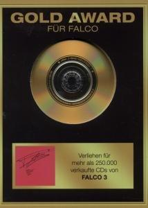 Falco - Gold Award: Falco 3 - Zortam Music