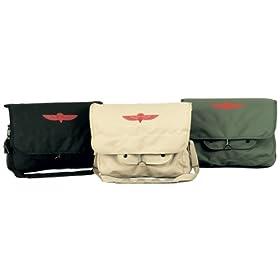 Classic Retro Washed Paratrooper Canvas Shoulder Bag - Unisex