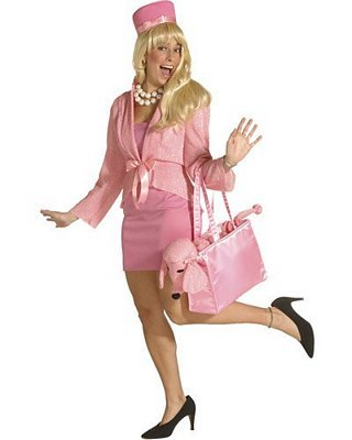 Poshatively Pink - Or Legally Blonde?