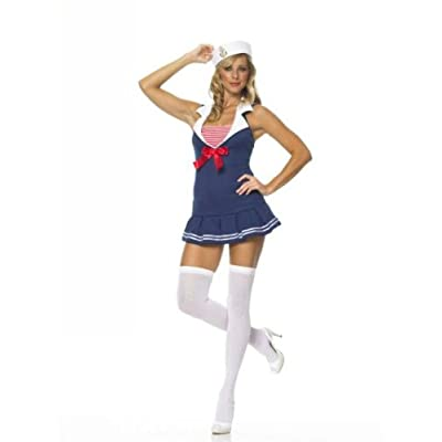 Sexy Girls in Sexy Sailor Cadet Costume