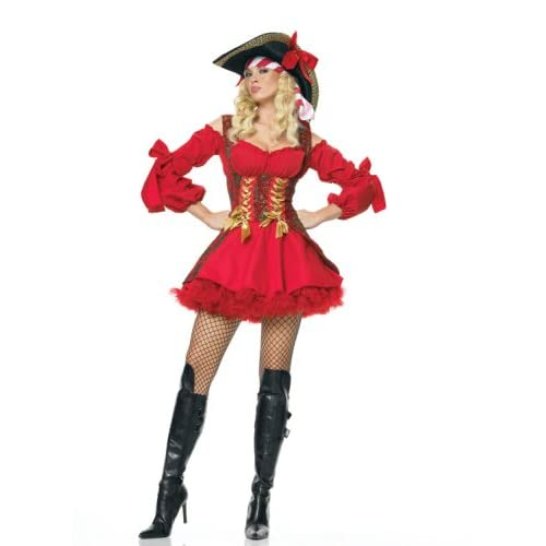 Leg Avenue 2Pc. Buccaneer Wench Incl Dress W