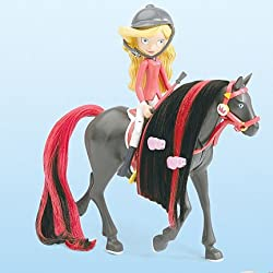 Horseland® Sarah & Scarlet Interactive Talking Horse & Rider Set