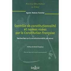 Contrôle de constitutionnalité et normes visées par la Constitution française