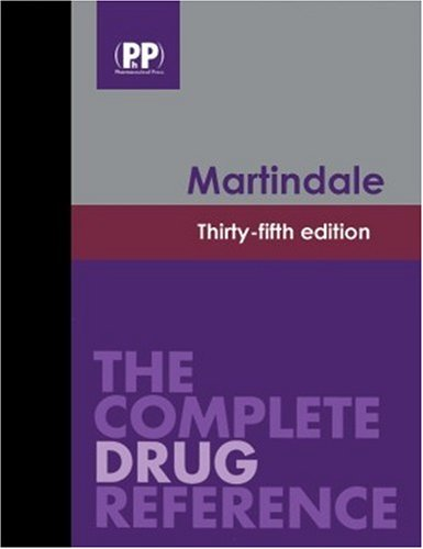 Martindale: The Complete Drug Reference, 35th Edition: Book and CD-ROM Package