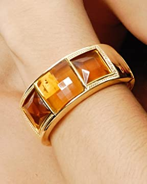 bebe.com : Faceted Stone Bracelet :  bangle designer jewelry jewellery