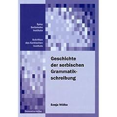 Geschichte der sorbischen Grammatikschreibung