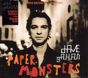 Dave Gahan - Paper Monsters (+ Bonus DVD) (Limited Ed - Zortam Music