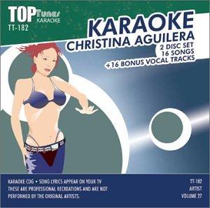 Christina Aguilera - Christina Aguilera Top Tunes Karaoke CDG TT-182 - Zortam Music