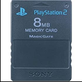 Sony Playstation 2 8MB Memory Card (Black)