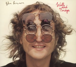 Original album cover of Walls and Bridges by John Lennon