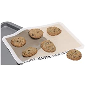 Matfer Exopat 11-5/8-by-16-3/8-Inch Nonstick Baking Sheet