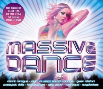 Various Artists - Massive Dance [2CD + DVD] - Zortam Music